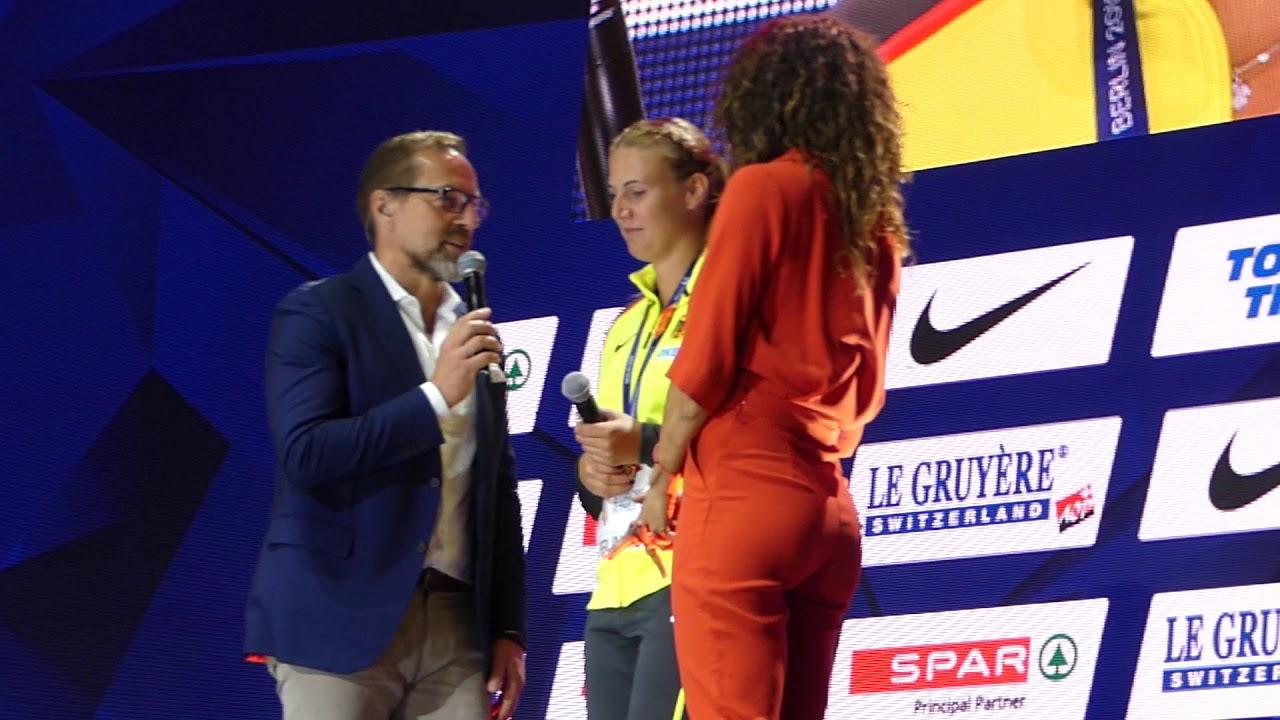 Infos für gut kaufen beste Sammlung Christin Hussong Leichtathletik EM 2018 in Berlin