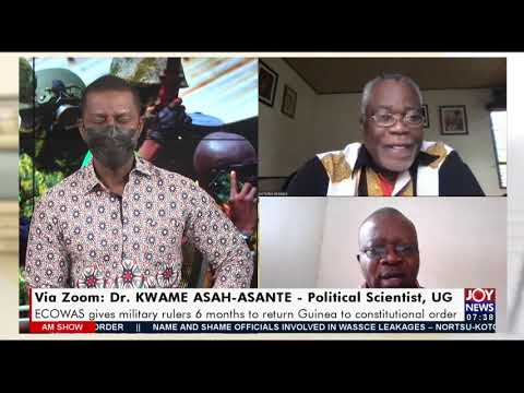 Guinea Coup: ECOWAS gives military rulers 6 months to return country to order - AM Talk (17-9-21)