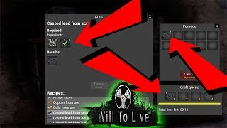 Will to live online The blast furnace crafting