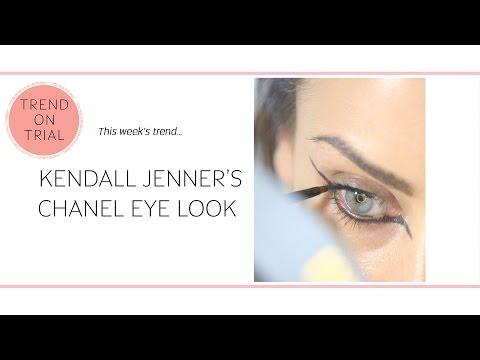 Kendall Jenner's Chanel Eye Flick #TrendOnTrial