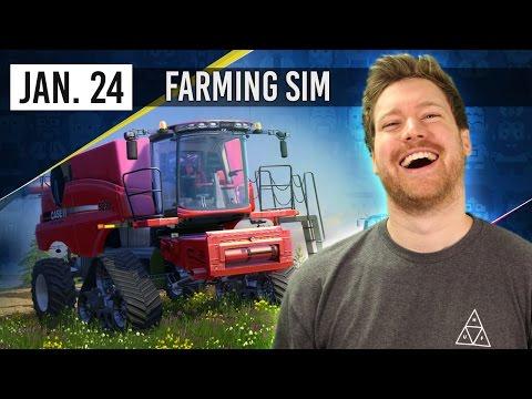MUTE BOYS - Farming Simulator - 24th January 2017
