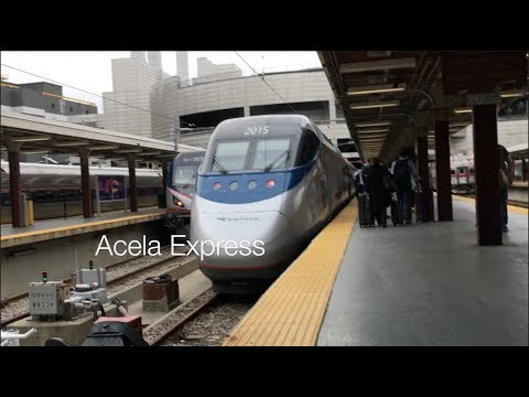 All Aboard! Acela Express [Boston~Providence]