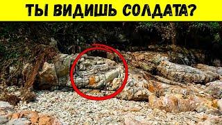 Угадайте, Сколько Солдат на Этой Скале? Невероятные Техники Военного Камуфляжа