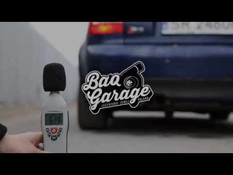 Audi S3 8L APY 1.8T - Complete BAQ Exhaust System / Sound / Start