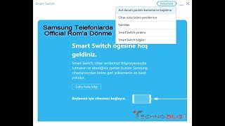 Samsung Smart Switch ile Orjinal Rom Dönme İşlemi