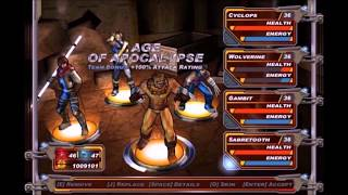 X-Men Legends II Rise of Apocalypse - Team Bonuses (With Sabretooth Included)