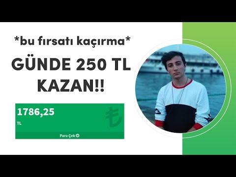 1 GÜNDE 250 TL KAZANIN! (İNTERNETTEN PARA KAZAN)