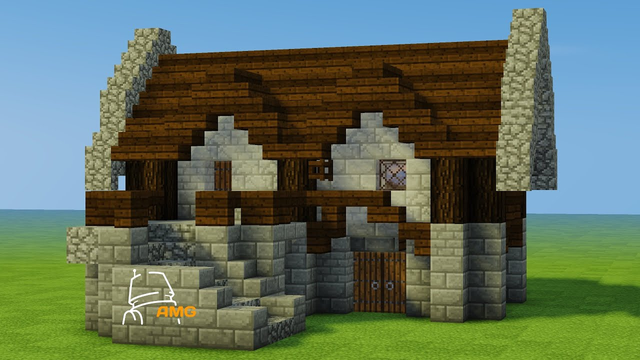 Minecraft Let U0026 39 S Build - French Medieval House Numero 2