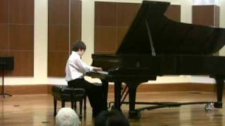Simon Plays Notturno by Edvard Grieg, Op.54 No.4 (Lyric Pieces)