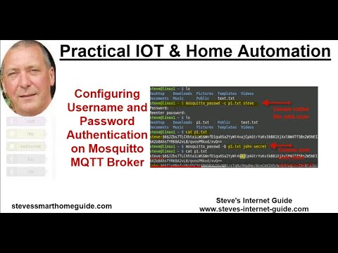 Mosquitto Username and Password Authentication