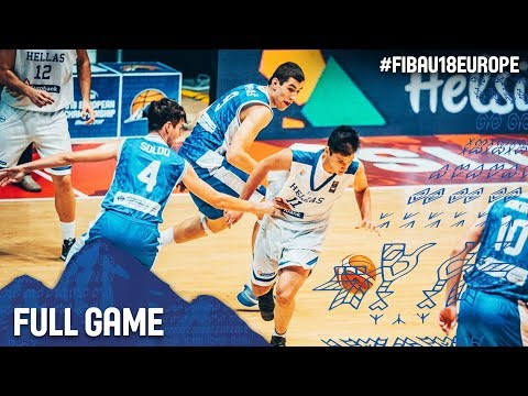 Greece v Bosnia and Herzegovina - Full Game - Classification - FIBA U18 European Championship 2017