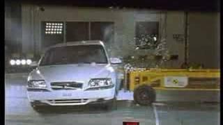 Volvo S80 crash test II.