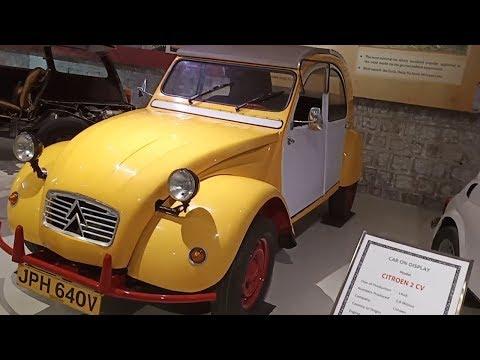 Citroen 2 CV Car In GeeDee Car Museum