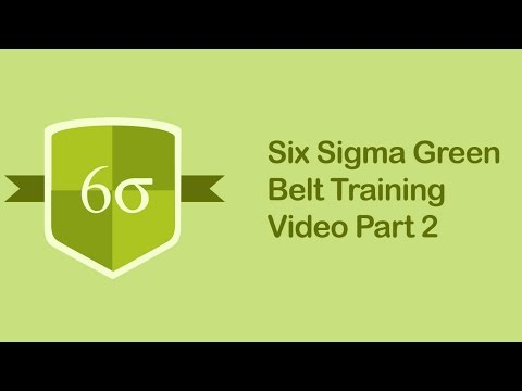 Six Sigma Green Belt Training Video | Six Sigma Tutorial Videos Part 2