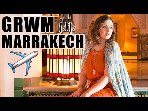 1001 Nights Makeup, Hair, Outfit & Luxury Travel | Get Ready With Me in Morocco