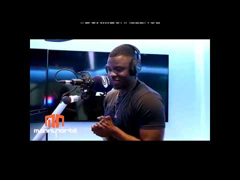 Big Shaq (Michael Dapaah) does #BoaMeChallenge