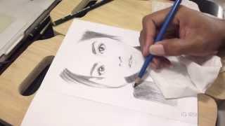 Baixar @raisa6690 Pencil Skecth Drawing by @nooraditama (Raisa - Bersinar)
