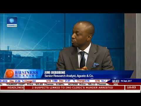 Focus On Mineral Resources In Nigeria's 2Q GDP Reading Pt.1 |Business Morning|