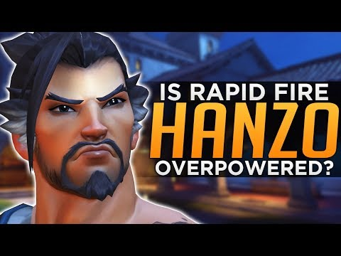 Overwatch: Is The NEW Hanzo OVERPOWERED!?