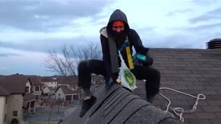 Как мы чинили крышу