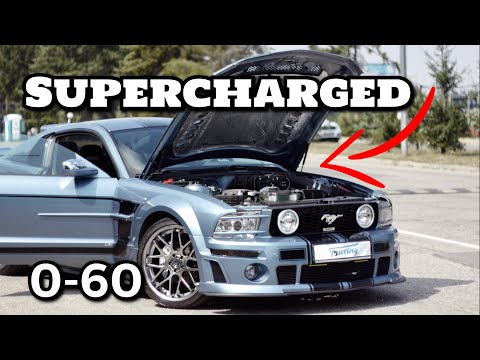 Supercharged Mustang GT500 Roush