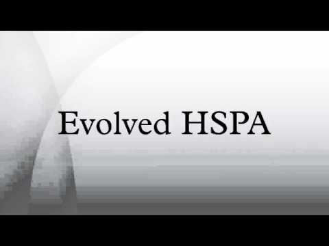 Evolved HSPA