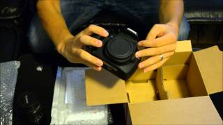 Unboxing Canon 1200D & Canon 18-55mm DC III