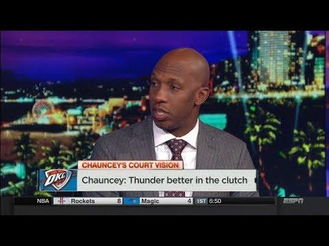 Chauncey Billups breaks down Thunder offense in the clutch | NBA Countdown