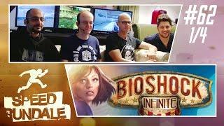 [1/4] Bioshock Infinite Speedrun mit henyK, Simon, Gregor & Sia | Speedrundale | 19.11.2016