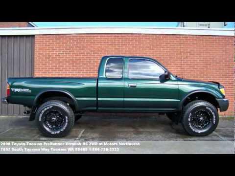 2000 Toyota Tacoma PreRunner Xtracab V6 2WD, $9995 At Motors   YouTube