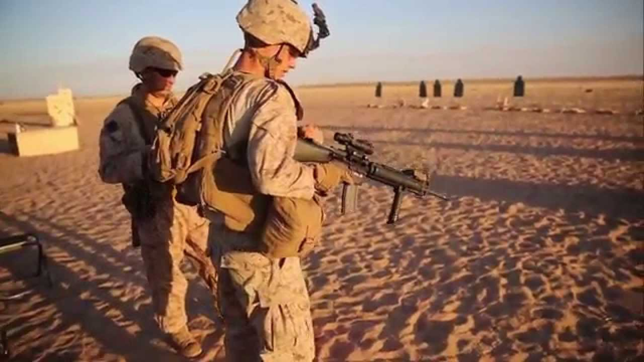 Marine Combat Engineers - Live Fire Drills - YouTube