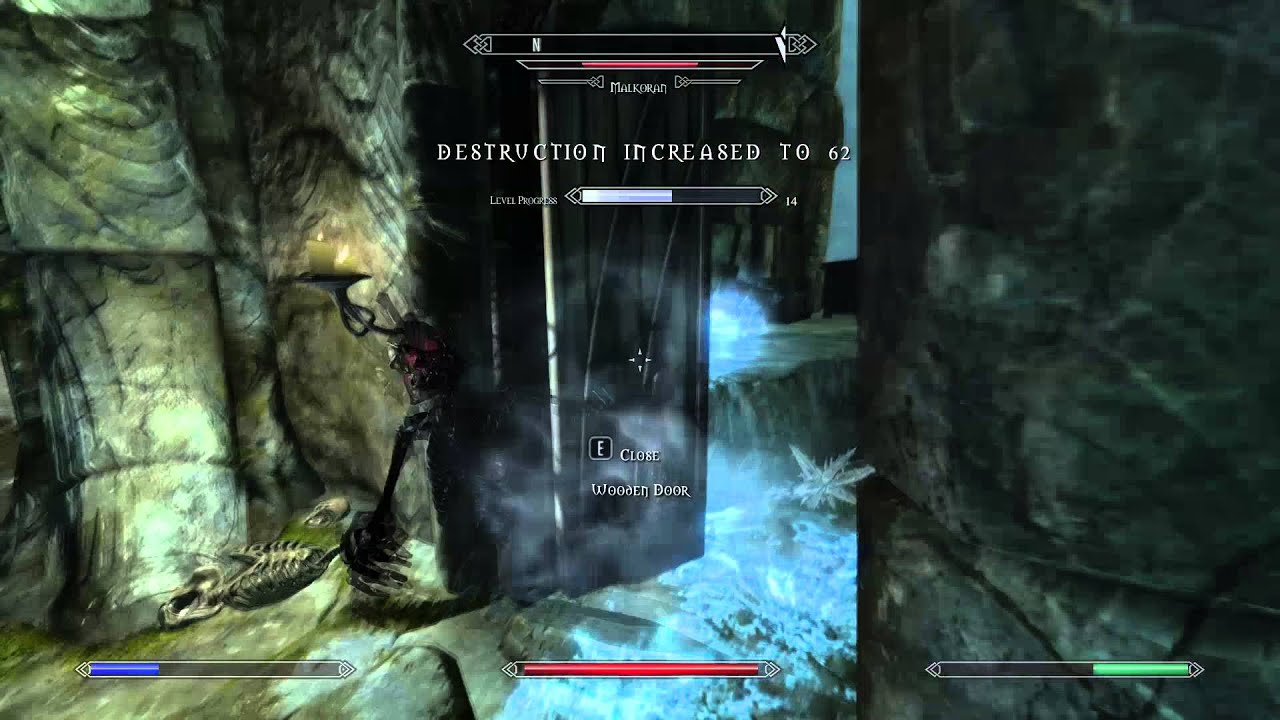 Skyrim Luckiest Malkoran Kill Ever Youtube