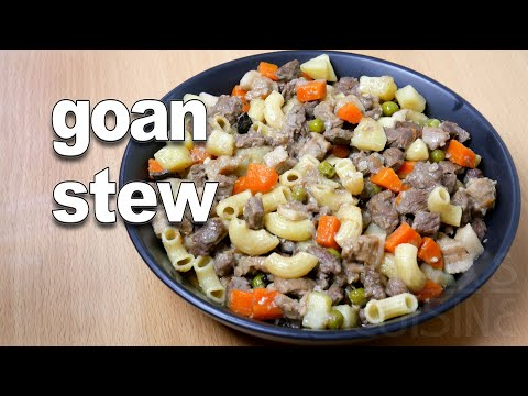 Goan Stew Recipe | Goan Beef Stew | Goan Beef Recipes | Goan Food || #FatimaFernandes