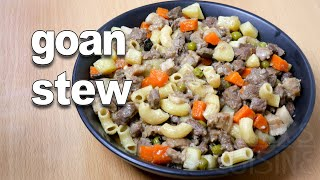 Goan Beef Stew | Goan Stew Recipe ||*Fatima Fernandes | Goan Beef Recipes | Goan Food