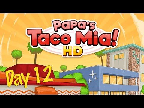 Papa's Taco Mia! HD Day 12 - iOS Gameplay