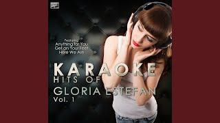 Falling in Love (Uh Oh) (In the Style of Gloria Estefan) (Karaoke Version)