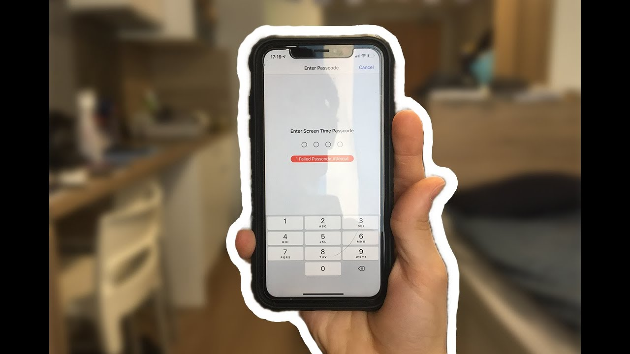 Recover/Reset Screen Time Passcode - WORKS | iOS 12