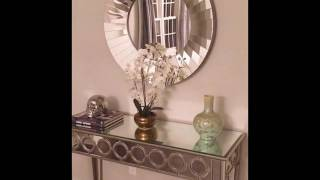 console tables with mirror
