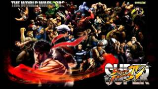 Super Street Fighter IV Character Select Arcade Theme Extended