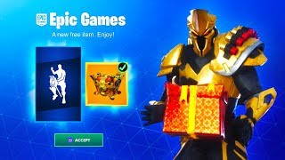 HOW TO GET A FREE GIFT IN FORTNITE SEASON X! (Free Emote)