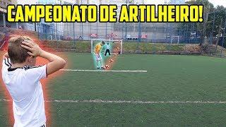 CAMPEONATO DE ARTILHEIRO COM CRIANÇAS!! ( quem foi o campeão?? )