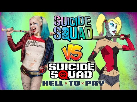 Suicide Squad (2016) Vs. Suicide Squad: Hell To Pay (2018)