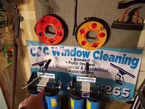 A Window Cleaner's Supply Shop
