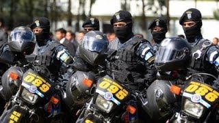 POLICIA ELITE MOTORIZADA DE GUATEMALA PNC..