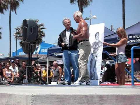 Chet Yorton 2009 Venice Muscle Beach Bodybuilding Hall of Fame