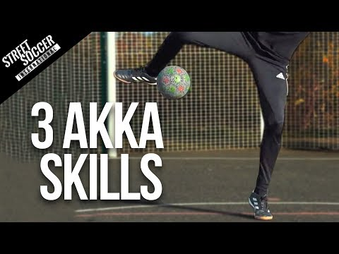 Learn 3 Akka Skills For Beginners | Street Soccer International