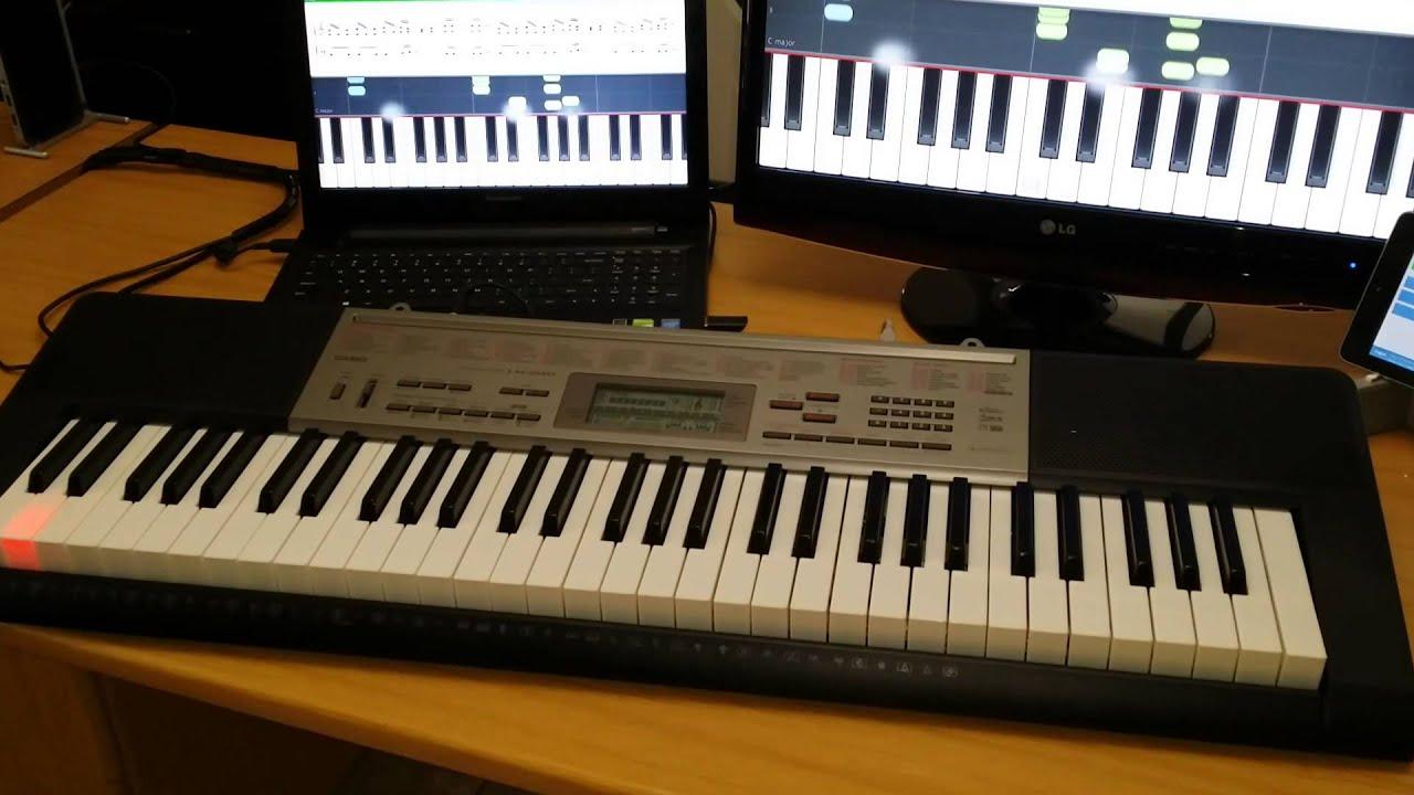 Casio Keyboard Usb