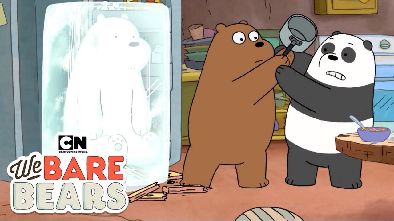 We Bare Bears | Frozen Ice  (พากย์ไทย) | Cartoon Network
