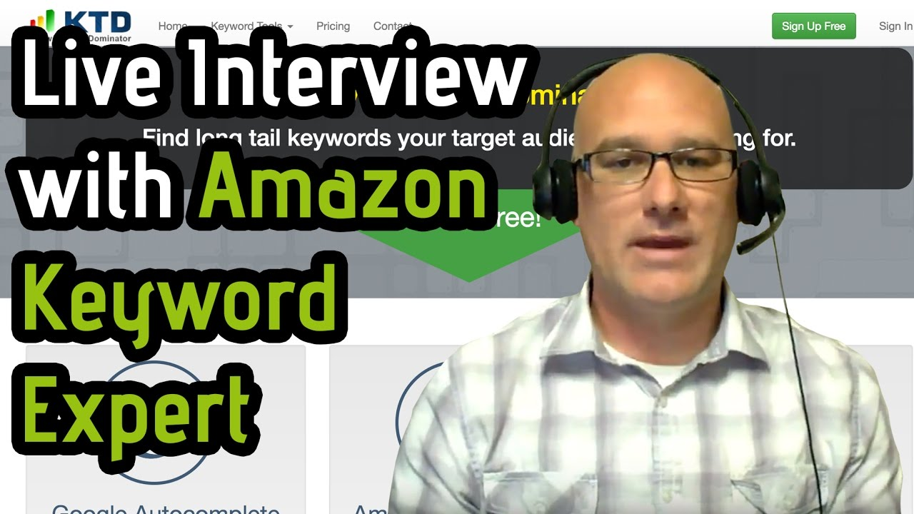 1ba5ba5a26ba Live Interview with Keyword Expert and founder of Keyword Tool ...