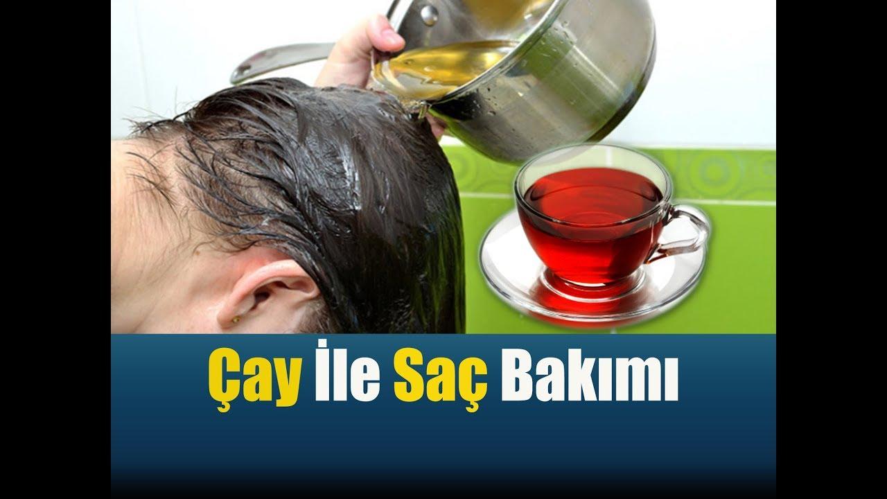 Çayın Saça Faydaları  /  Çayın Saça Uygulanması